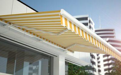 Instale automatismos para viento y lluvia y proteja su toldo